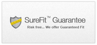 SureFit Guarantee - Risk free - We Offer Guaranteed Fit