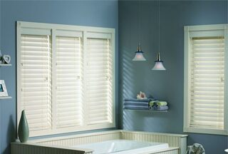 "Classic 2"" Faux Wood Blinds"
