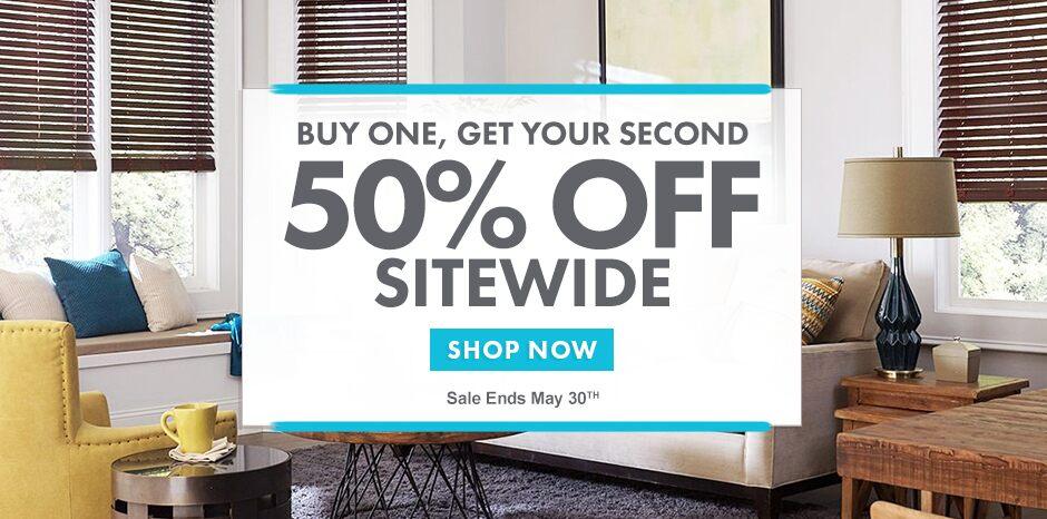Memorial Day Sale - BOGO 50%